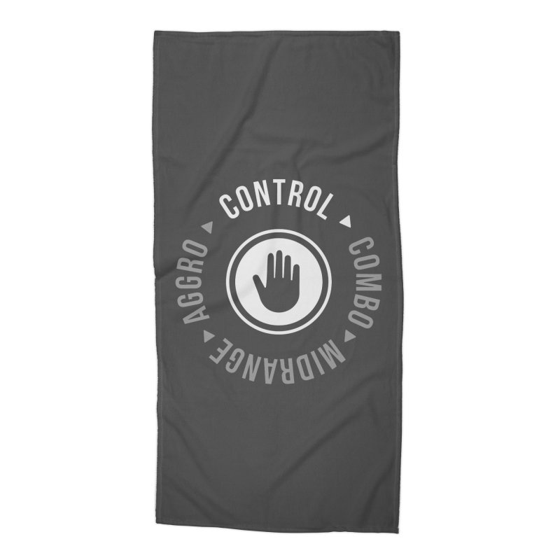 Control Mode Accessories Beach Towel by Epic Upgrades