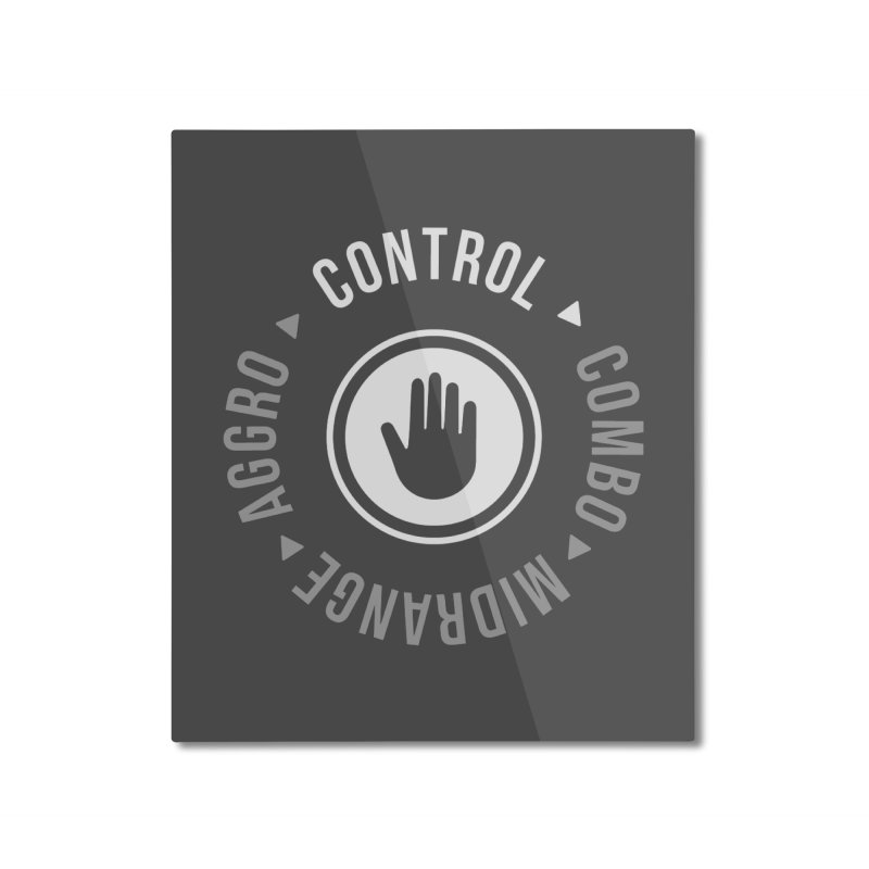 Control Mode Home Mounted Aluminum Print by Epic Upgrades