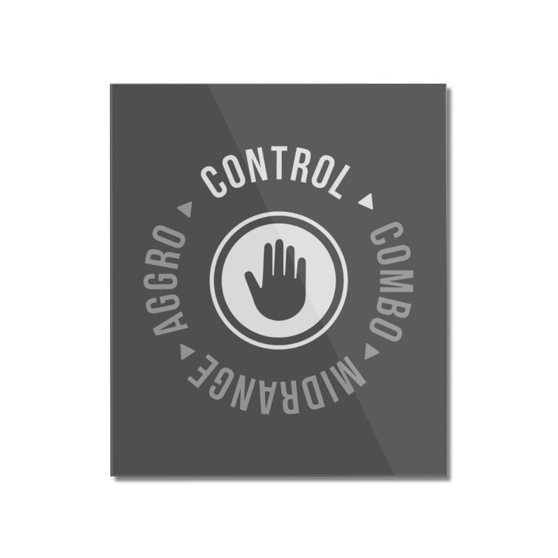 Control Mode Home Mounted Acrylic Print by Epic Upgrades