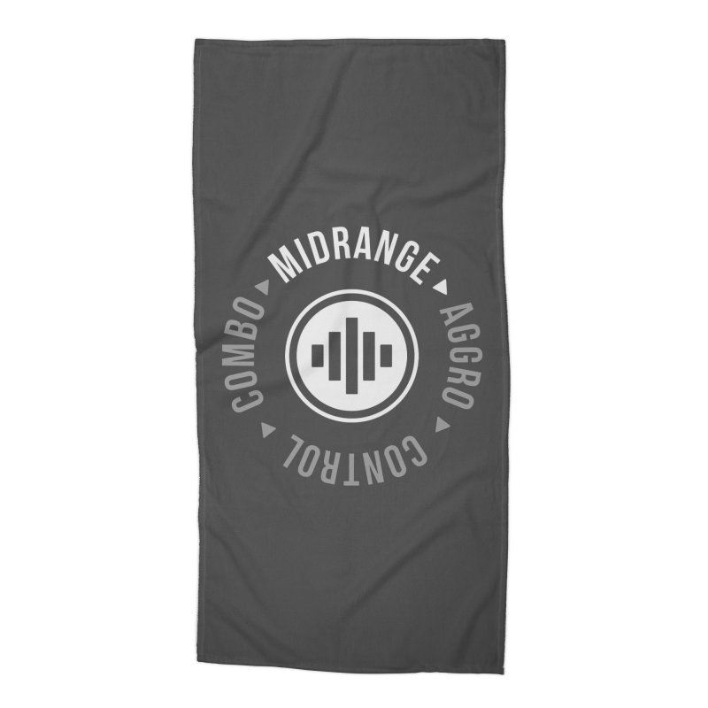 Midrange Mode Accessories Beach Towel by Epic Upgrades