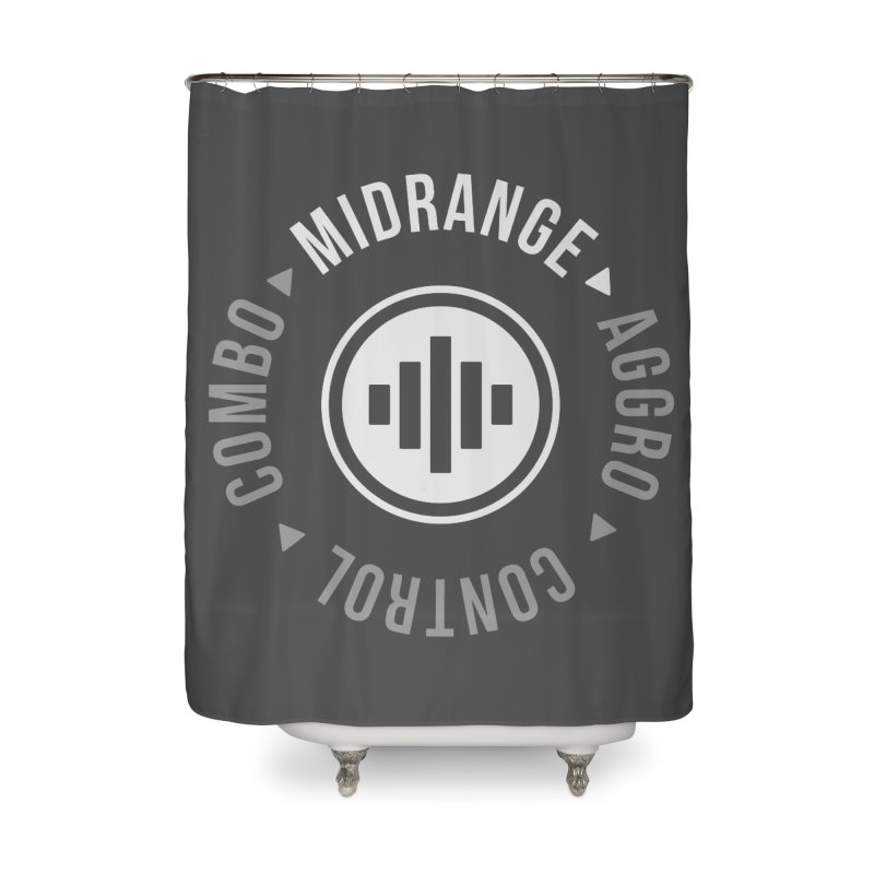 Midrange Mode Home Shower Curtain by Epic Upgrades