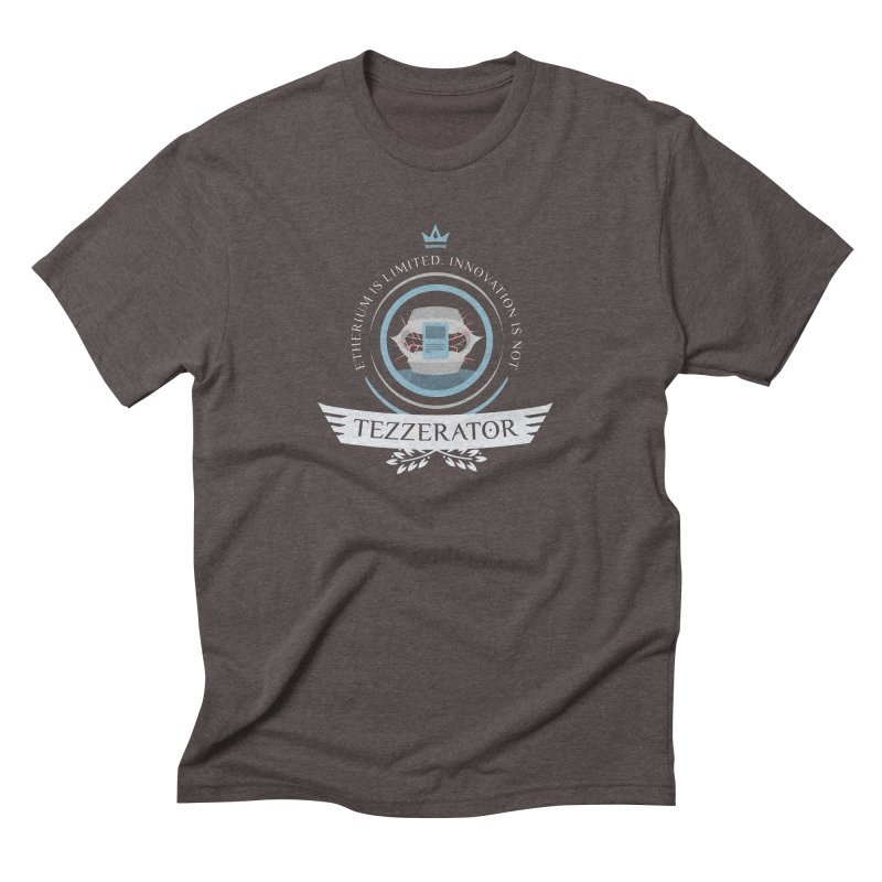 Tezzerator! Men's Triblend T-Shirt by Epic Upgrades