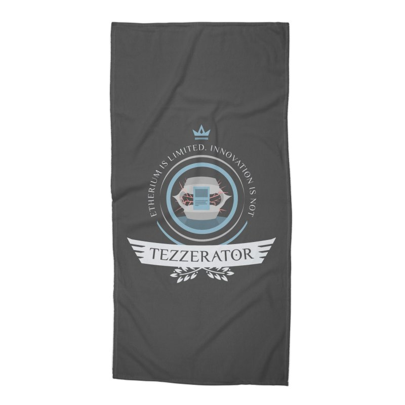 Tezzerator! Accessories Beach Towel by Epic Upgrades
