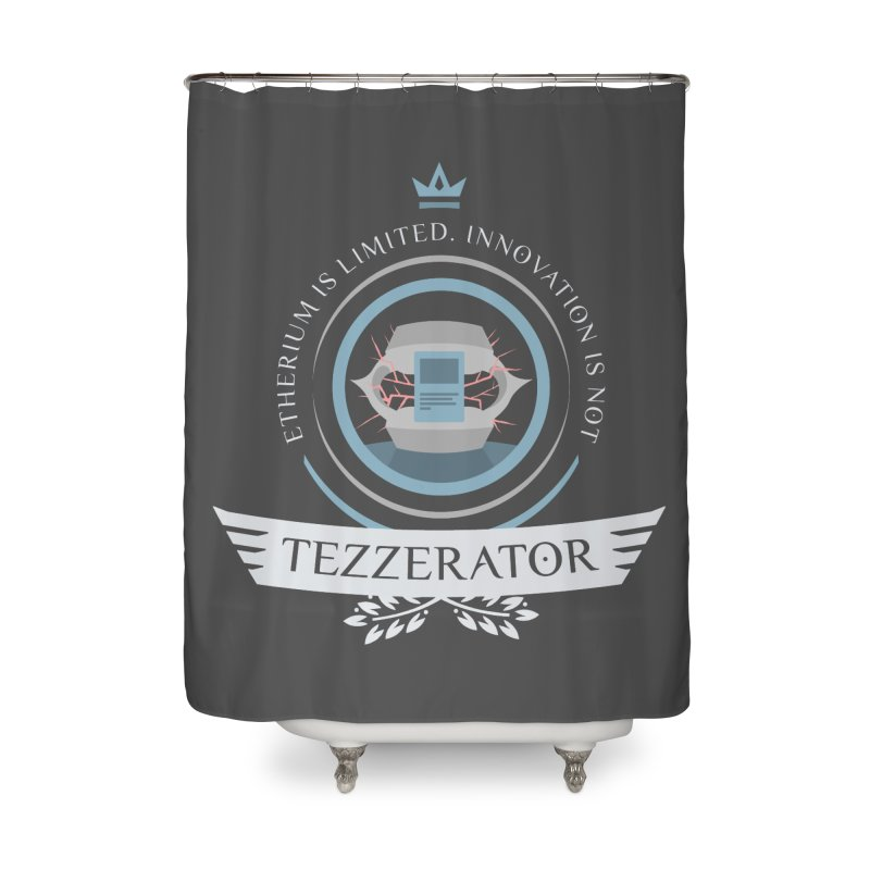 Tezzerator! Home Shower Curtain by Epic Upgrades