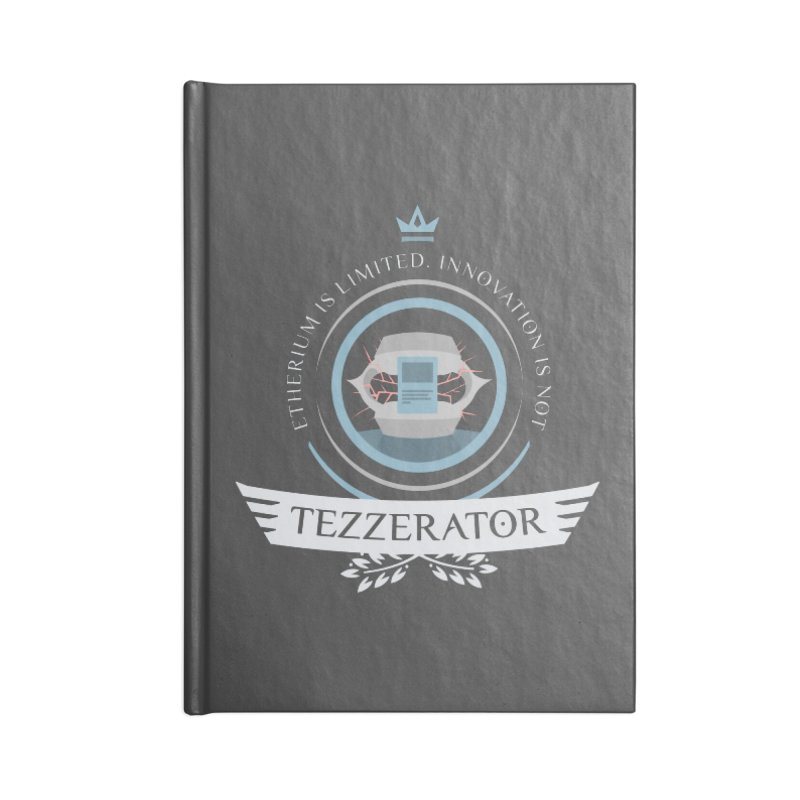 Tezzerator! Accessories Notebook by Epic Upgrades