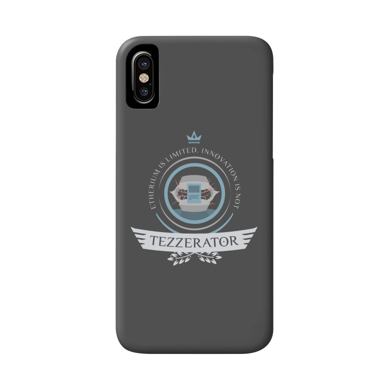 Tezzerator! Accessories Phone Case by Epic Upgrades