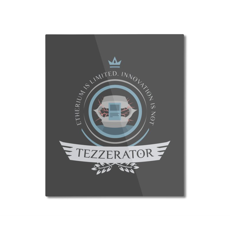 Tezzerator! Home Mounted Aluminum Print by Epic Upgrades