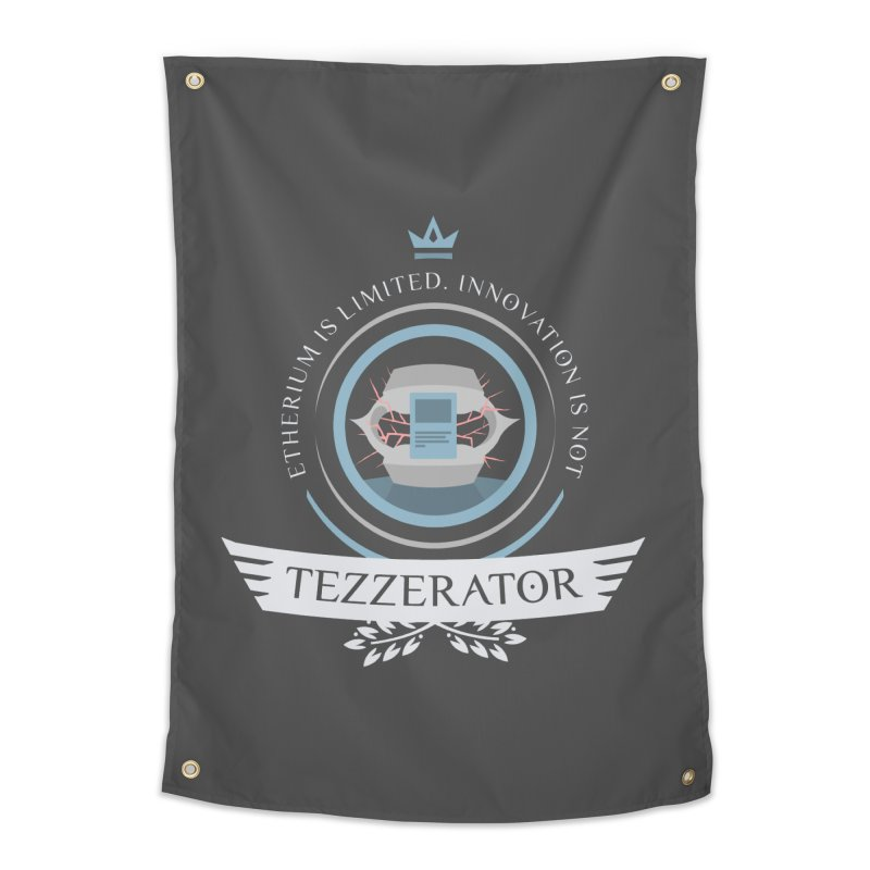 Tezzerator! Home Tapestry by Epic Upgrades