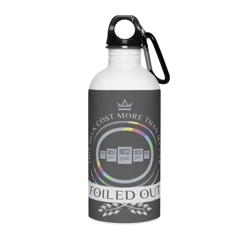 Foiled Out Accessories Water Bottle by Epic Upgrades