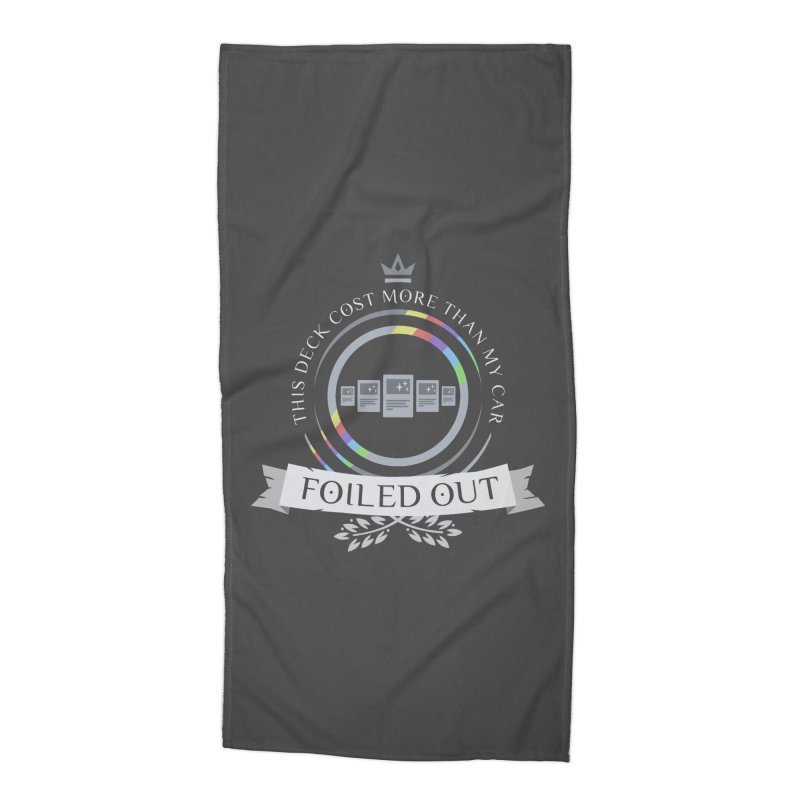Foiled Out Accessories Beach Towel by Epic Upgrades