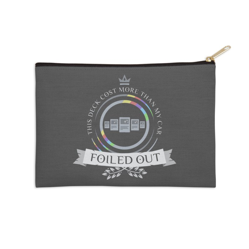 Foiled Out Accessories Zip Pouch by Epic Upgrades