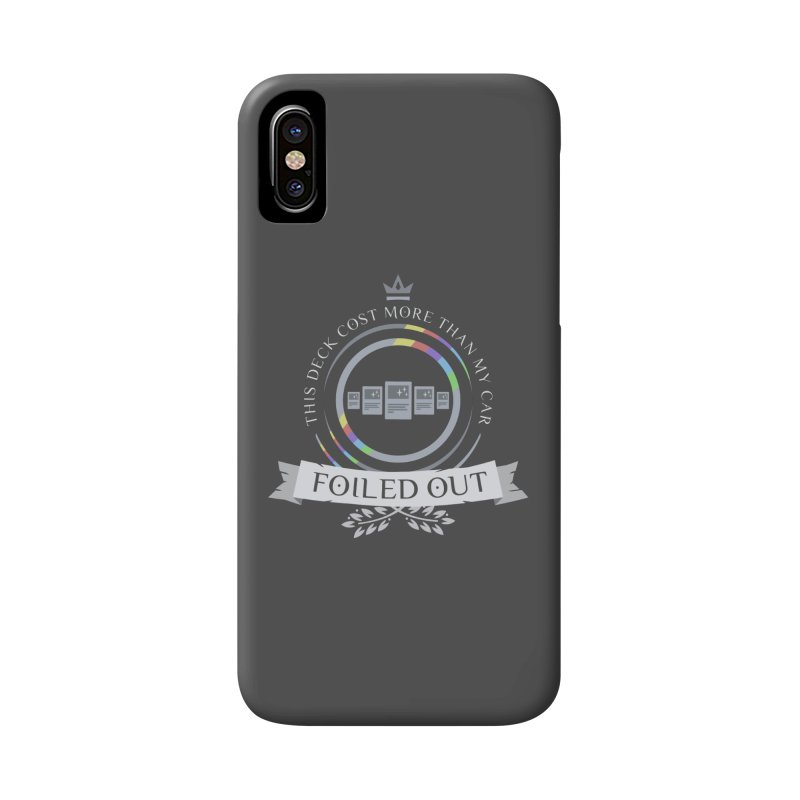 Foiled Out Accessories Phone Case by Epic Upgrades
