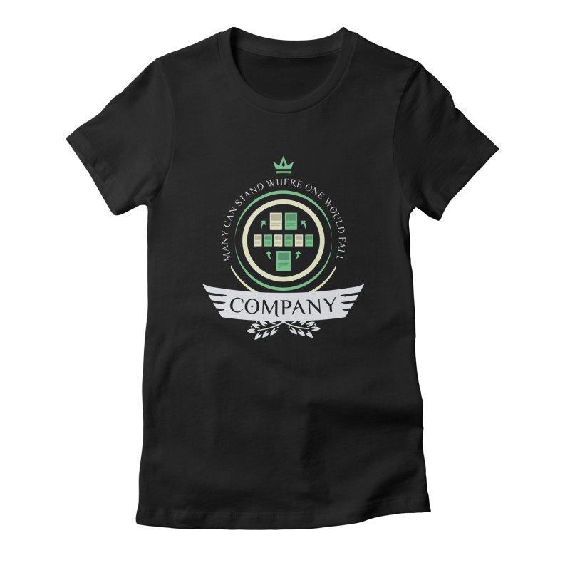 Collected Company Life V1 Women's Fitted T-Shirt by Epic Upgrades