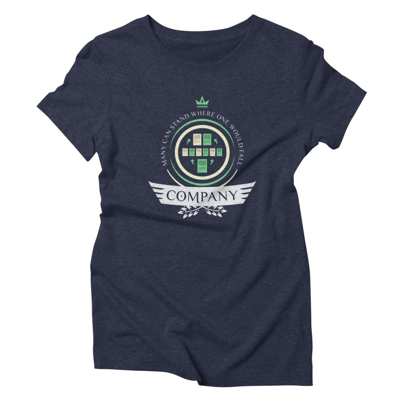 Collected Company Life V1 Women's Triblend T-Shirt by Epic Upgrades