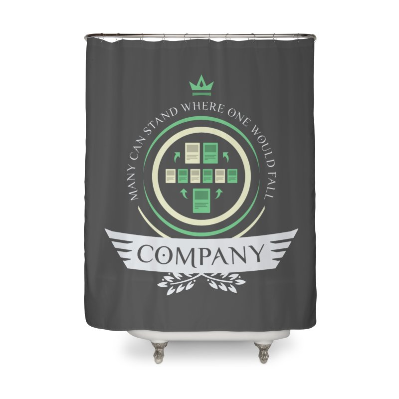 Collected Company Life V1 Home Shower Curtain by Epic Upgrades