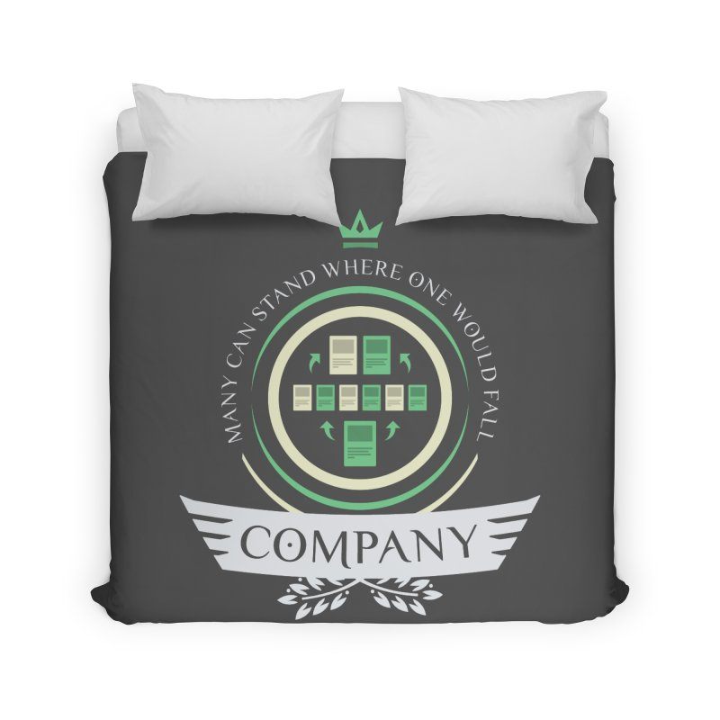 Collected Company Life V1 Home Duvet by Epic Upgrades