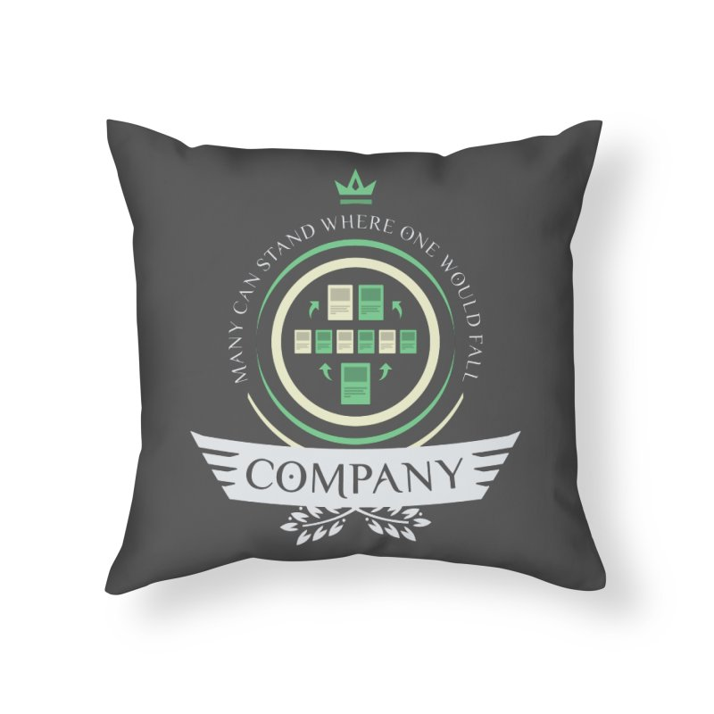 Collected Company Life V1 Home Throw Pillow by Epic Upgrades