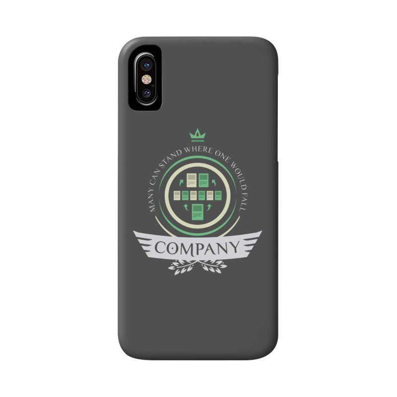 Collected Company Life V1 Accessories Phone Case by Epic Upgrades