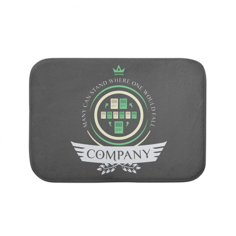 Collected Company Life V1 Home Bath Mat by Epic Upgrades