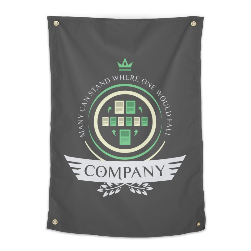 Collected Company Life V1 Home Tapestry by Epic Upgrades