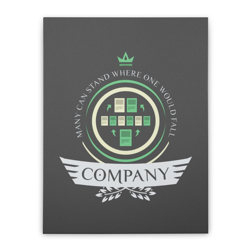Collected Company Life V1 Home Stretched Canvas by Epic Upgrades