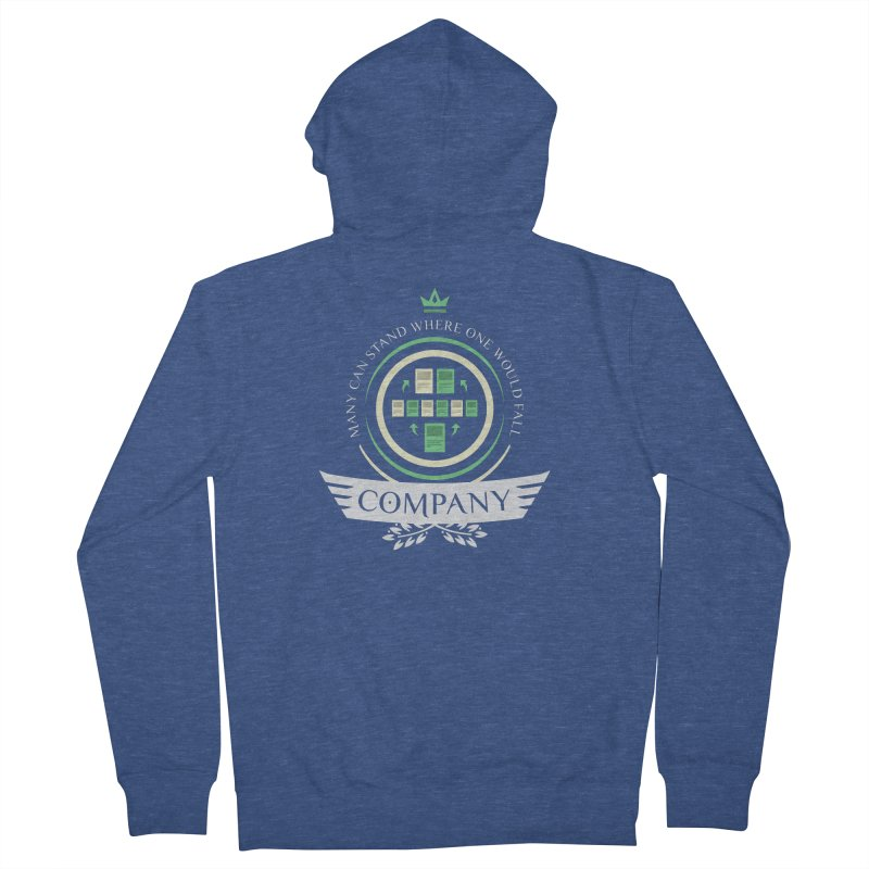 Collected Company Life V1 Men's Zip-Up Hoody by Epic Upgrades