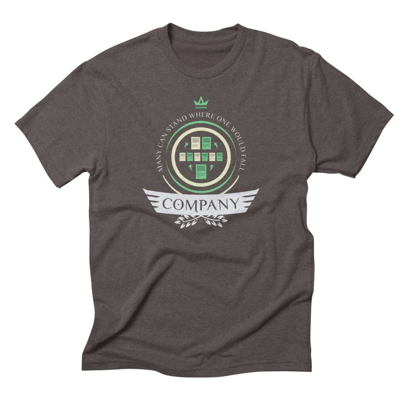 Collected Company Life V1 Men's Triblend T-Shirt by Epic Upgrades