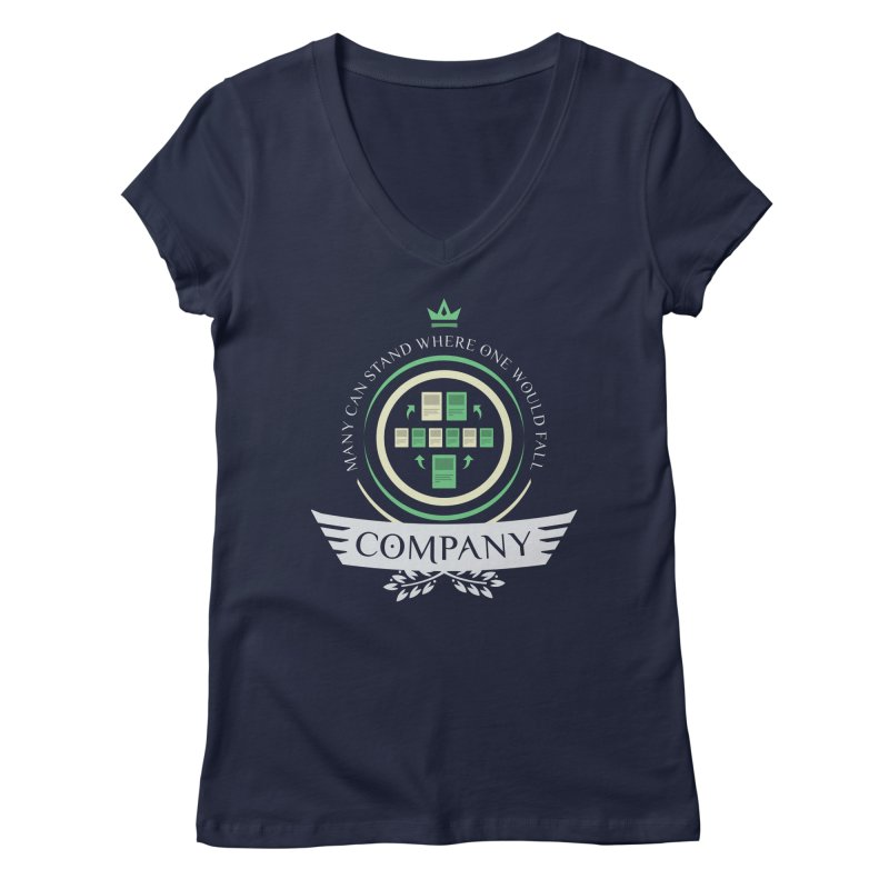 Collected Company Life V1 Women's V-Neck by Epic Upgrades