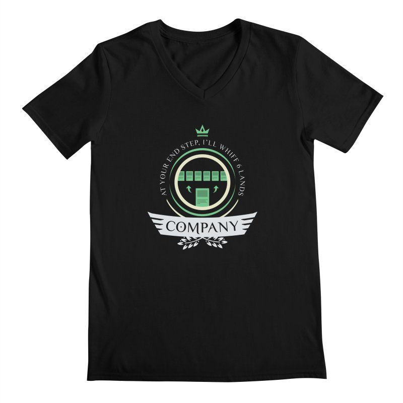 Collected Company Life V2 Men's V-Neck by Epic Upgrades