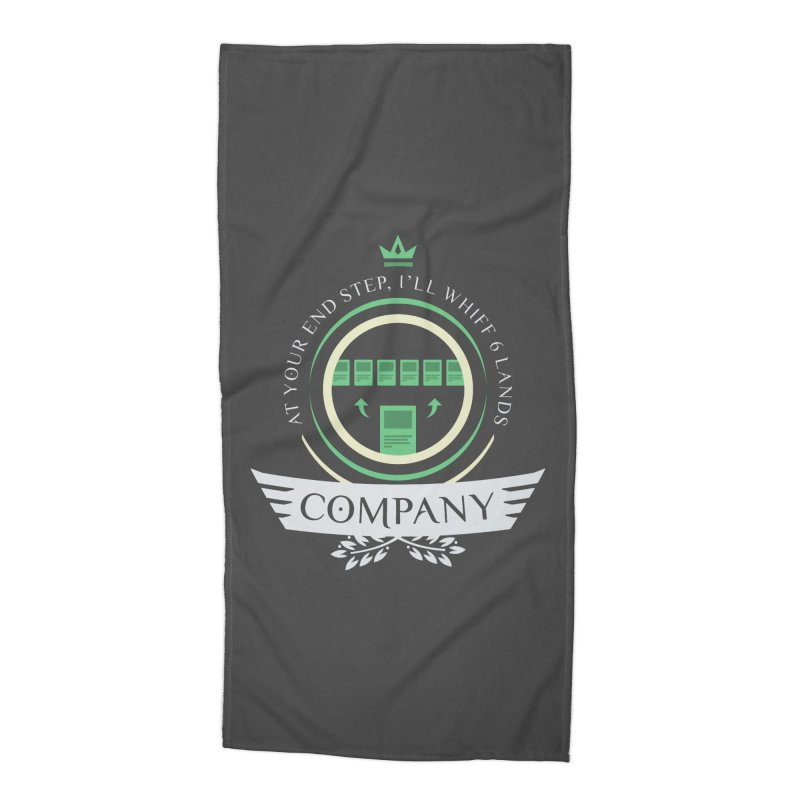 Collected Company Life V2 Accessories Beach Towel by Epic Upgrades