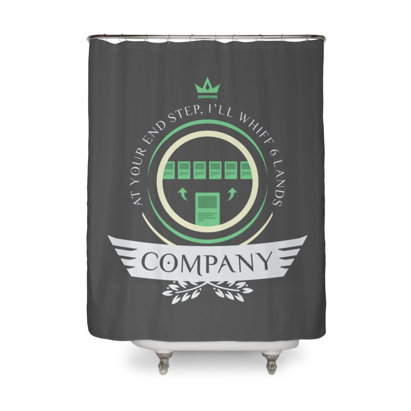 Collected Company Life V2 Home Shower Curtain by Epic Upgrades