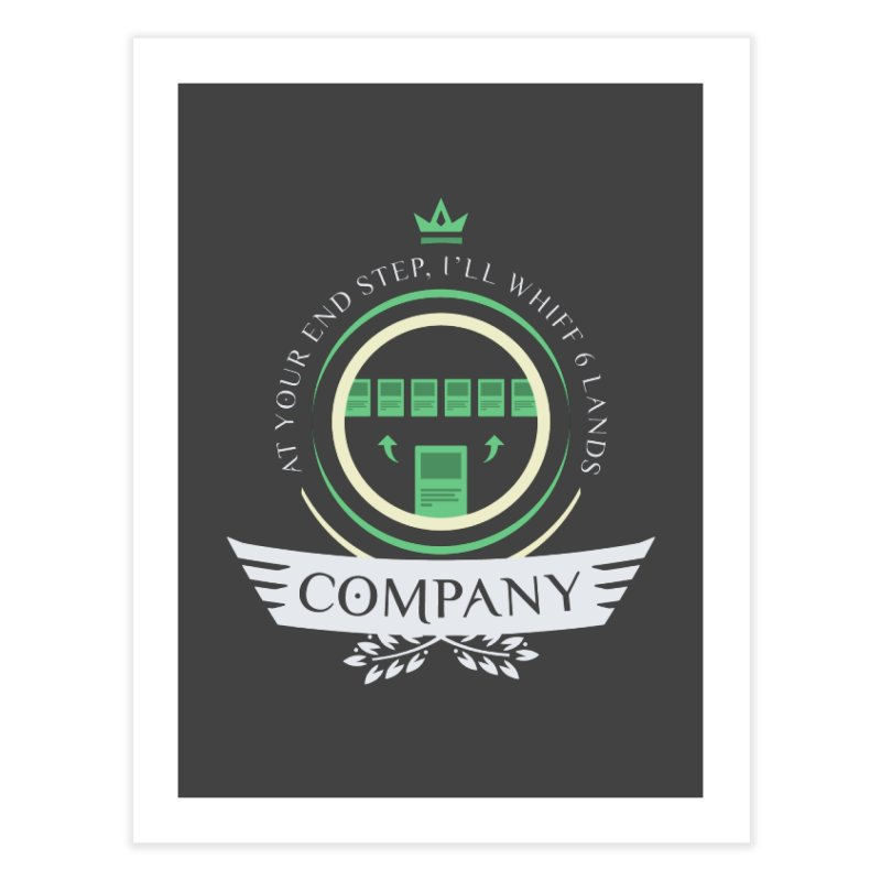 Collected Company Life V2 Home Fine Art Print by Epic Upgrades