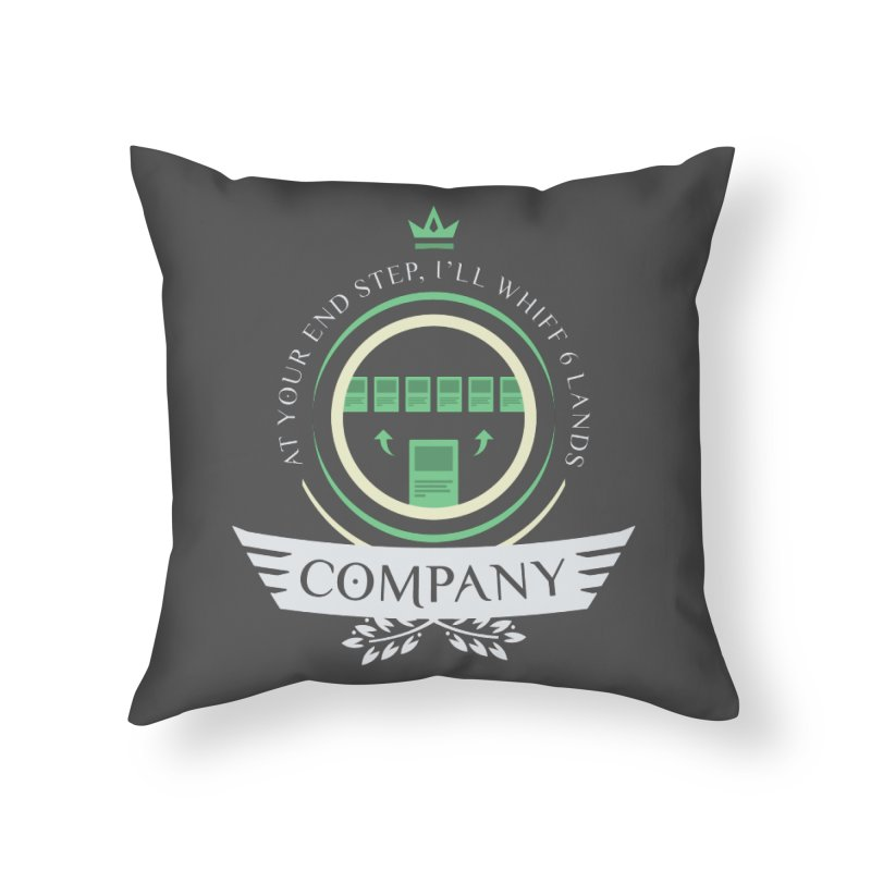 Collected Company Life V2 Home Throw Pillow by Epic Upgrades