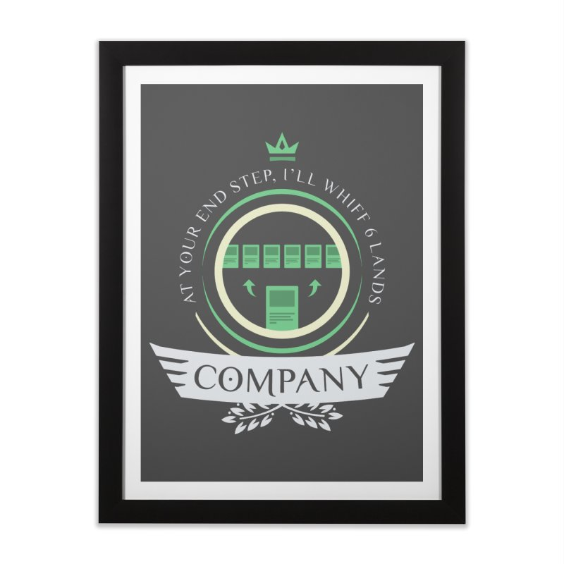 Collected Company Life V2 Home Framed Fine Art Print by Epic Upgrades