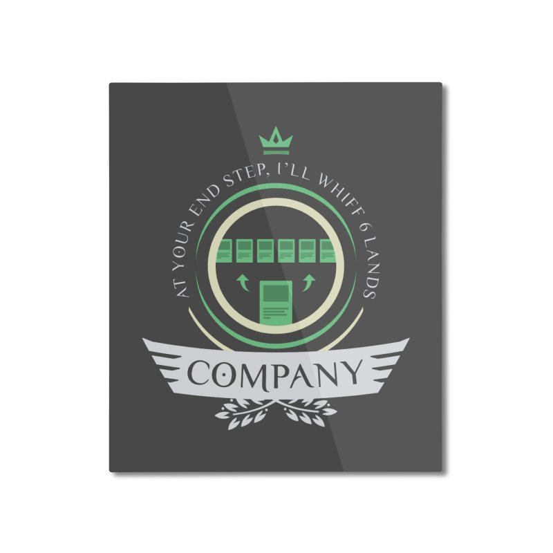 Collected Company Life V2 Home Mounted Aluminum Print by Epic Upgrades
