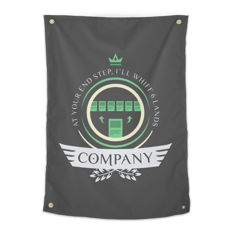 Collected Company Life V2 Home Tapestry by Epic Upgrades