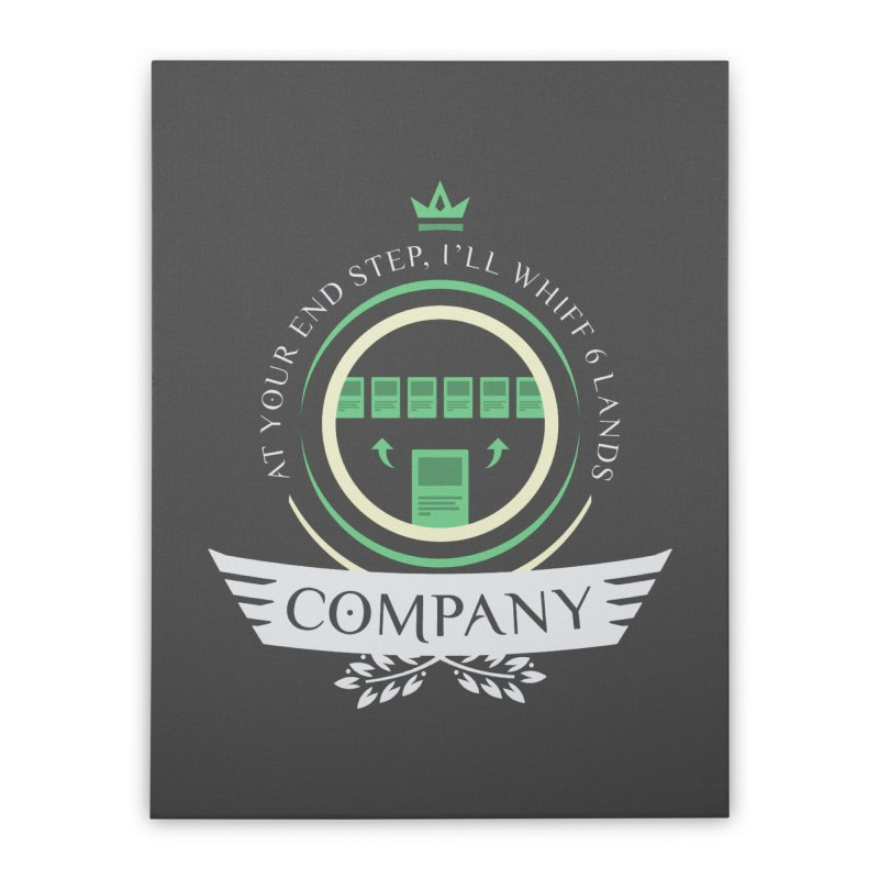 Collected Company Life V2 Home Stretched Canvas by Epic Upgrades