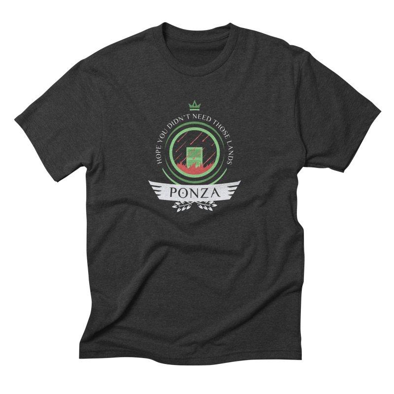 Ponza Life Men's Triblend T-Shirt by Epic Upgrades