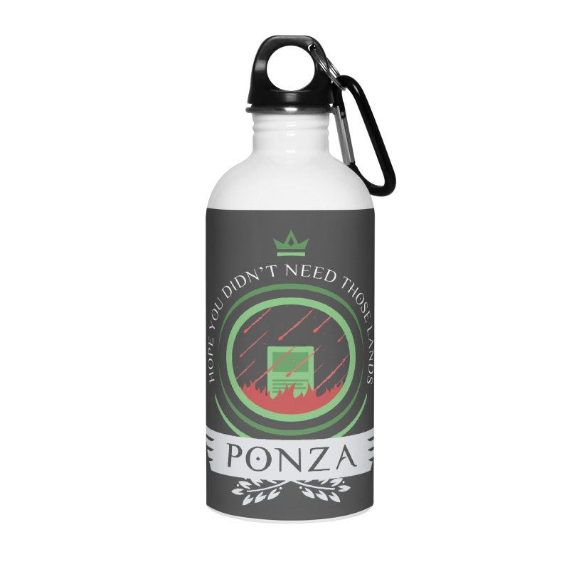 Ponza Life Accessories Water Bottle by Epic Upgrades