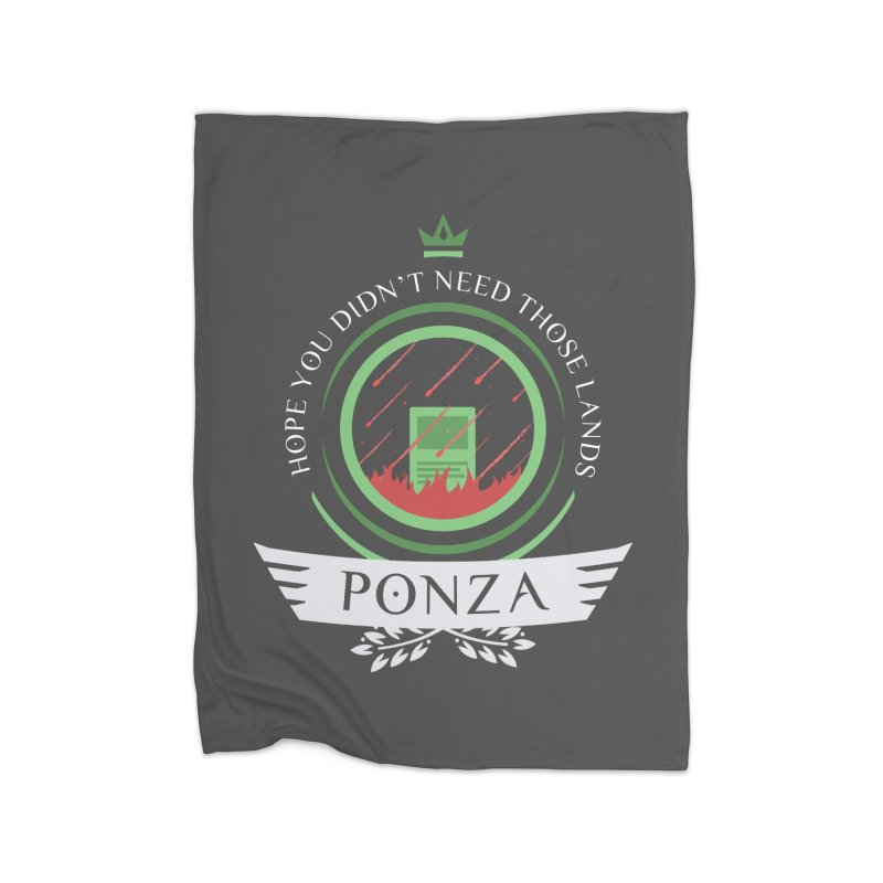 Ponza Life Home Blanket by Epic Upgrades