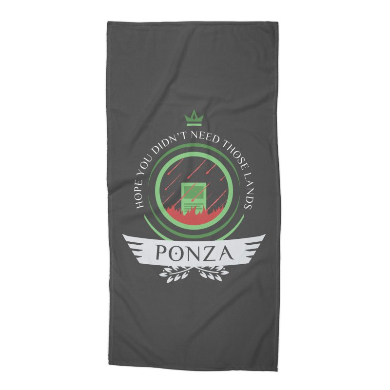 Ponza Life Accessories Beach Towel by Epic Upgrades