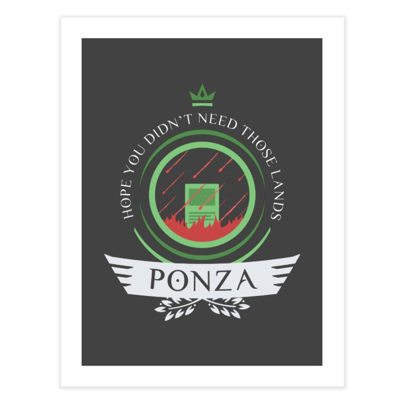 Ponza Life Home Fine Art Print by Epic Upgrades