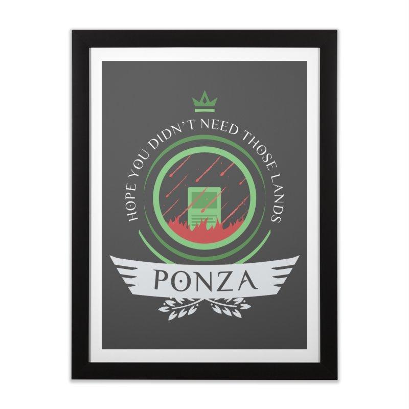 Ponza Life Home Framed Fine Art Print by Epic Upgrades