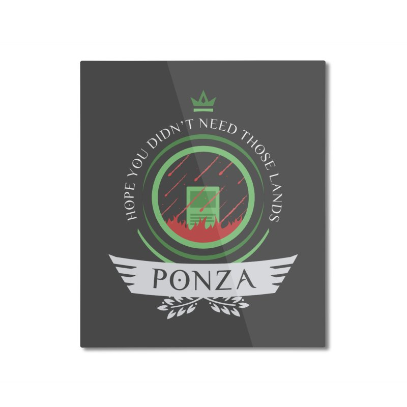 Ponza Life Home Mounted Aluminum Print by Epic Upgrades