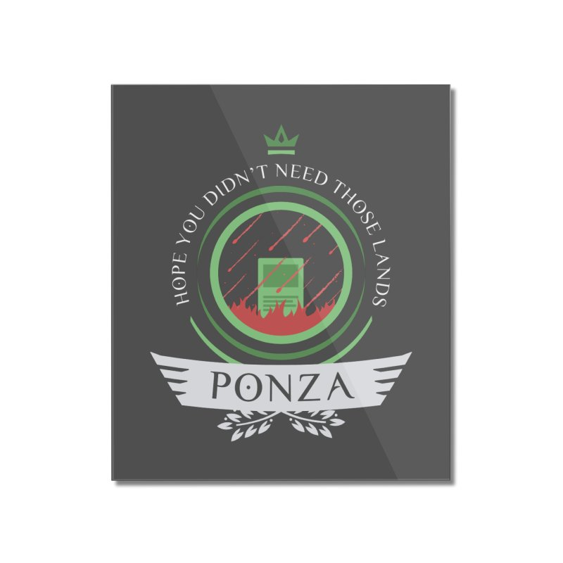 Ponza Life Home Mounted Acrylic Print by Epic Upgrades