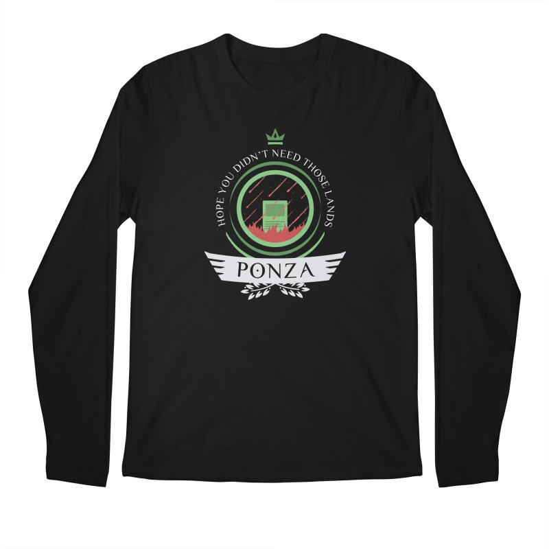Ponza Life Men's Longsleeve T-Shirt by Epic Upgrades