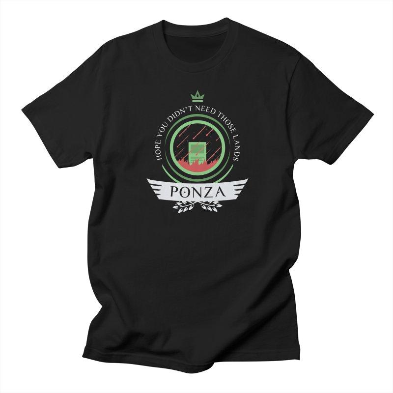 Ponza Life Men's T-Shirt by Epic Upgrades