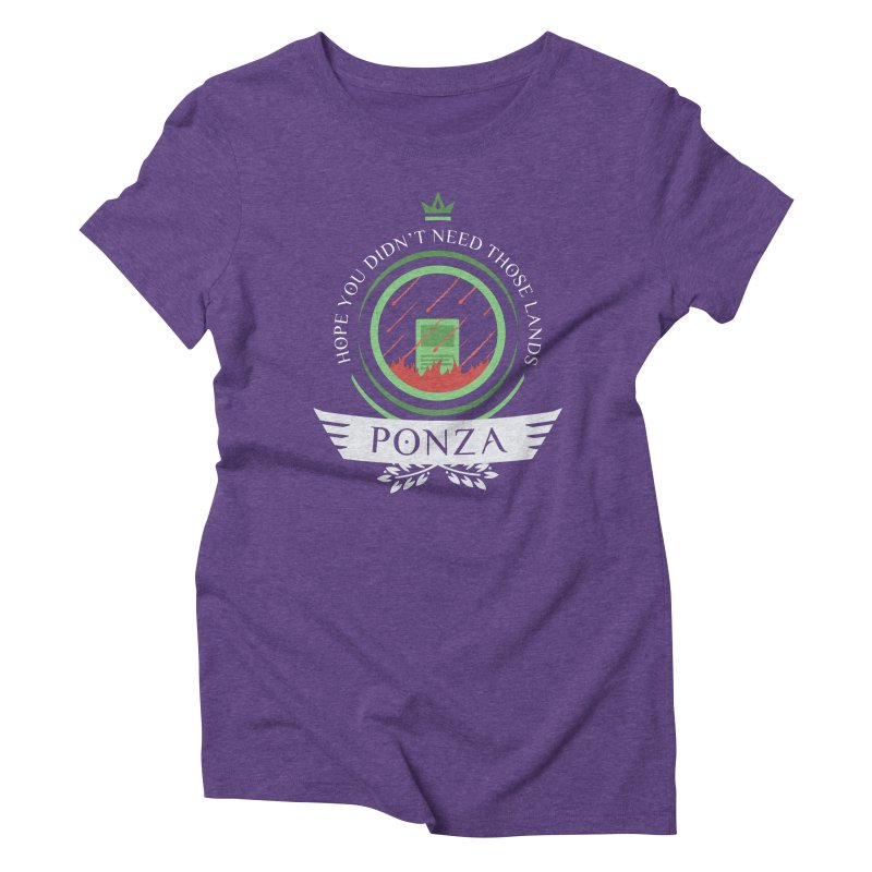 Ponza Life Women's Triblend T-Shirt by Epic Upgrades
