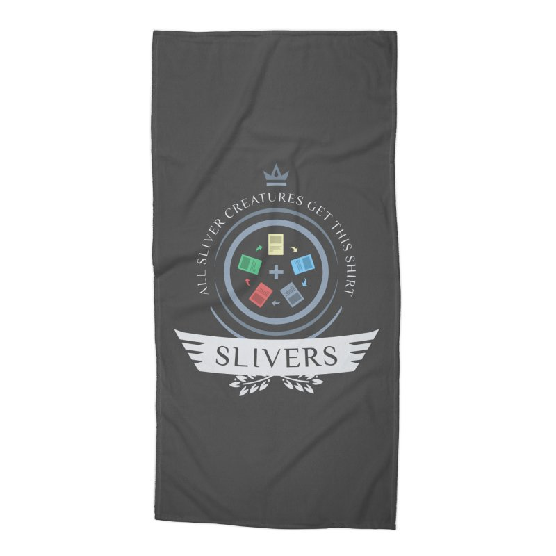 Slivers Life Accessories Beach Towel by Epic Upgrades