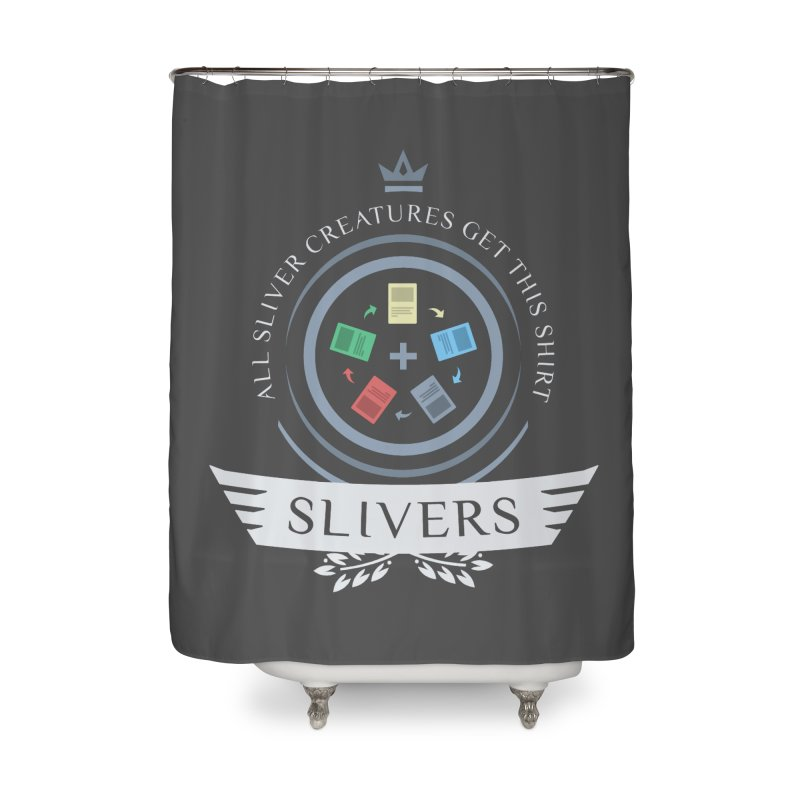 Slivers Life Home Shower Curtain by Epic Upgrades